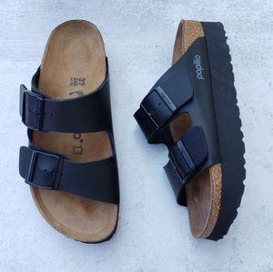 Birkenstock Papillio Platform Arizona Sandals 37